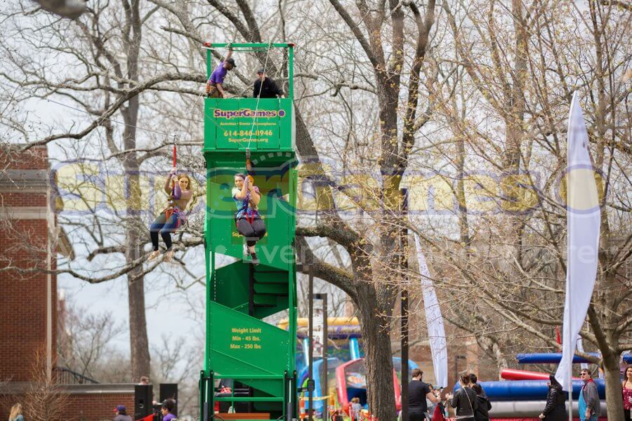 Portable Zipline, College events